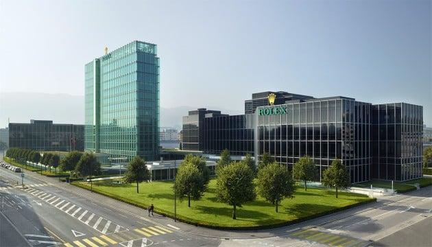 Rolex - centrala w Genewie