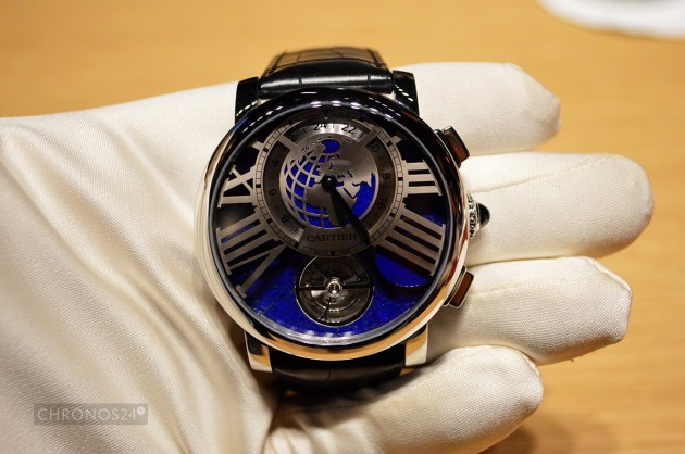 Rotonde de Cartier Earth and Moon