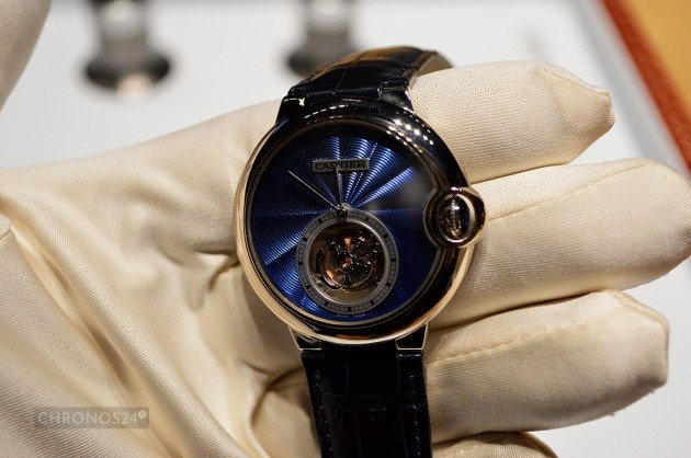 Ballon Bleu Flying Tourbillon