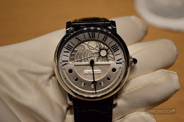 Rotonde Cartier Day and Night