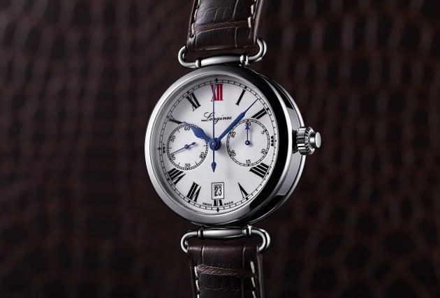 Przykładowy zegarek ze stoperem typu monopusher