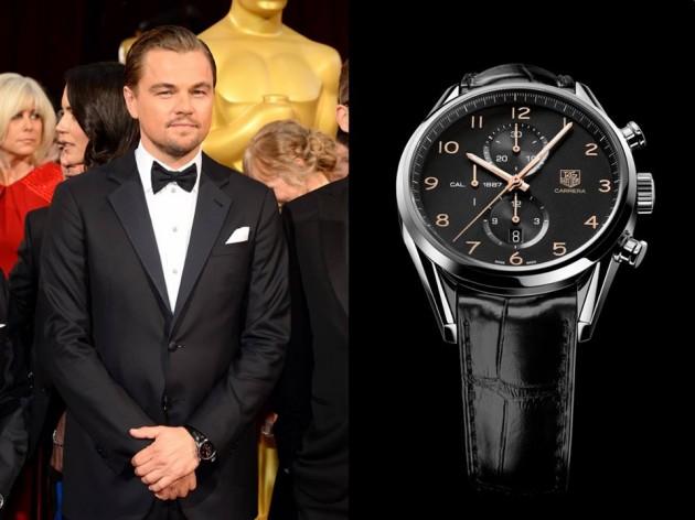 Leonardo DiCaprio i TAG Heuer Carrera 1887 Chronograph