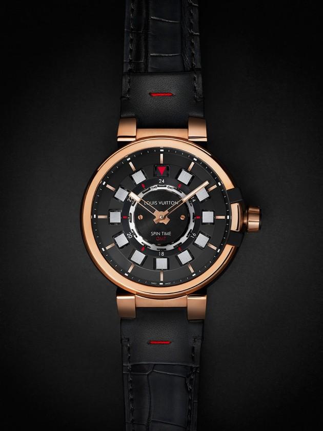 Tambour éVolution Spin Time GMT