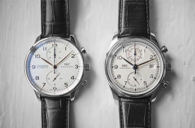 Ref.3714 vs. Ref.3904 / foto:hodinkee.com