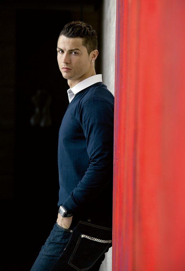 Cristiano Ronaldo - ambasador marki TAG Heuer
