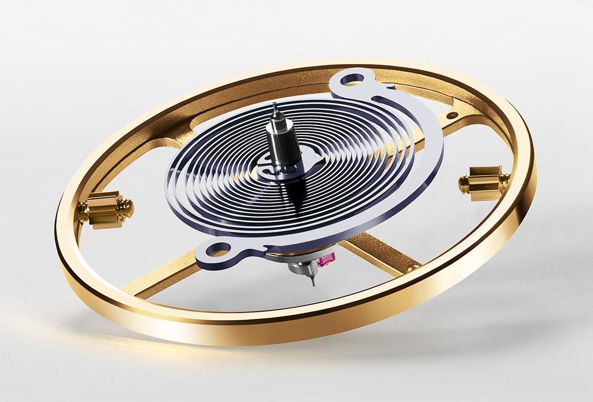Syloxi – krzemowa sprężyna balansu Rolexa