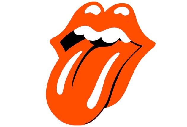 Tongue and Lip Design - logo The Rolling Stones