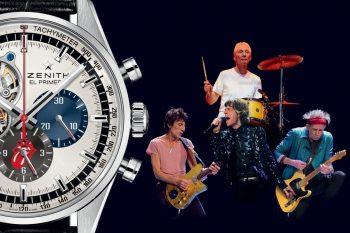 Zenith El Primero Chronomaster 1969 The Rolling Stones LE