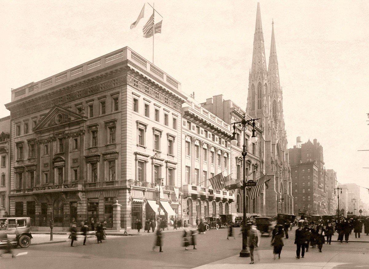 Nowojorski butik przy Fifth Avenue (1922 rok)