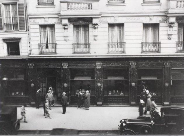 Paryski butik przy Rue de la Paix (1912 rok)