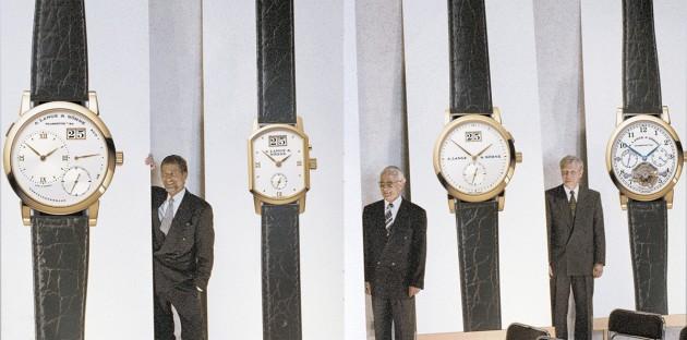 Lange 1994 - (od lewej) Gunter Blumlein i Walter Lange