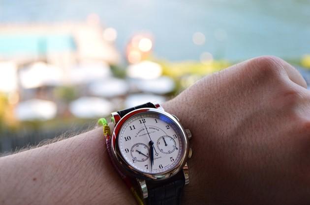 1815 Chronograph i Jezioro Como