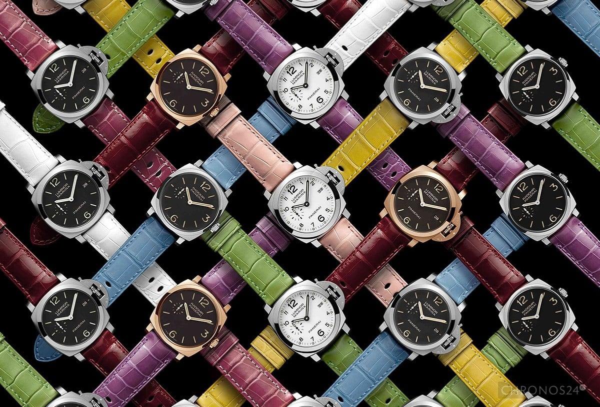 Kolorowe paski do zegarków Officine Panerai