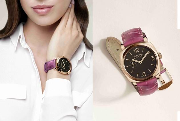 Kolorowy pasek do zegarka Officine Panerai