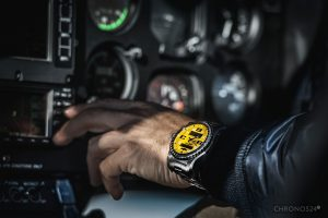 Hannes Arch i jego Breitling Emergency II