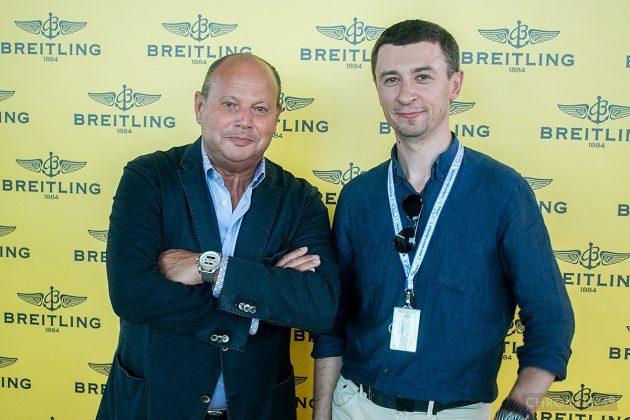 Peter Kellner (CEO Breitling Austria and Eastern Europe) oraz Tomasz Kiełtyka