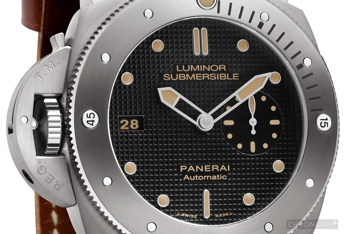 Panerai Luminor Submersible 1950 Left-Handed Titanio PAM569