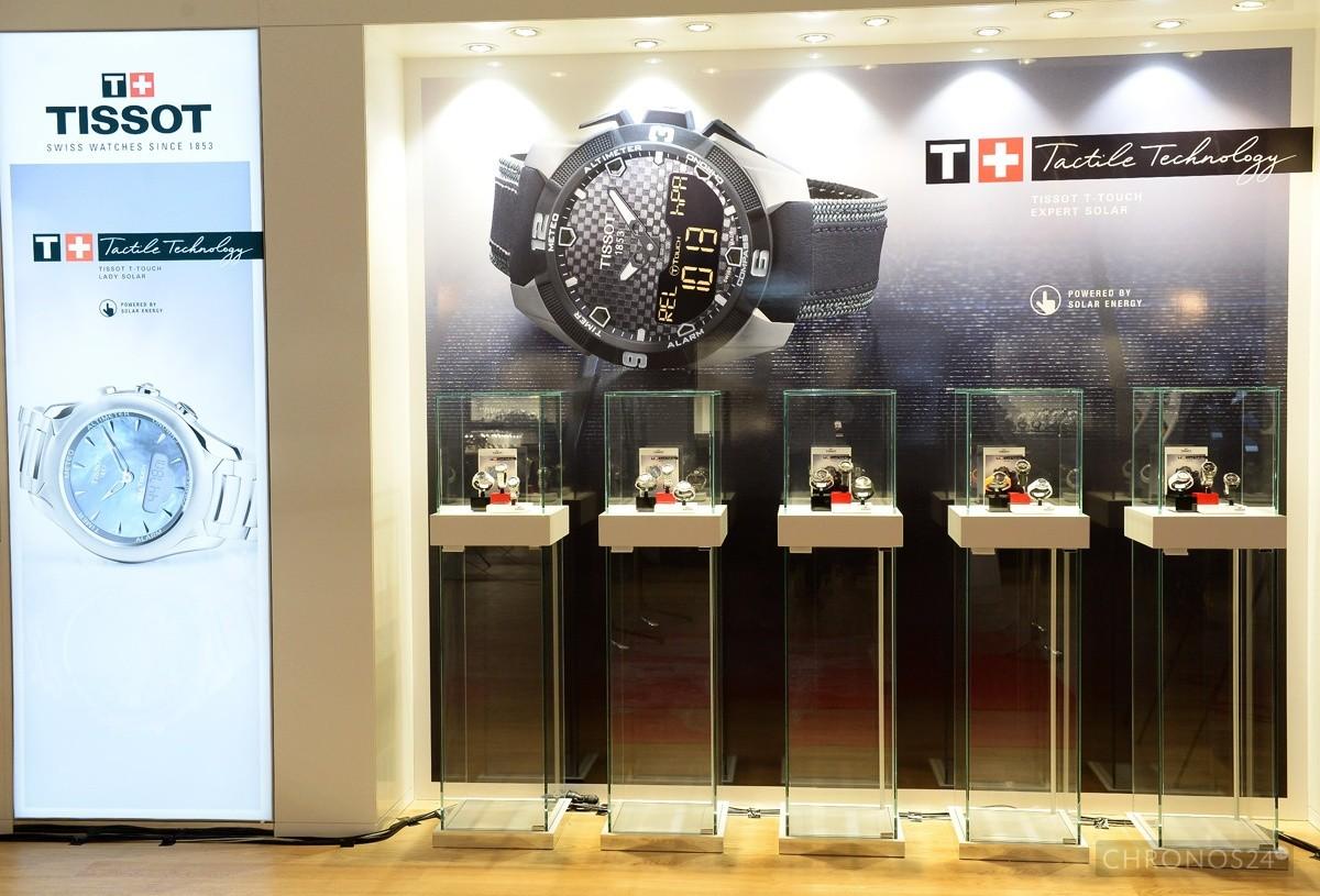 Tissot T-Touch Solar premierowo w Warszawie