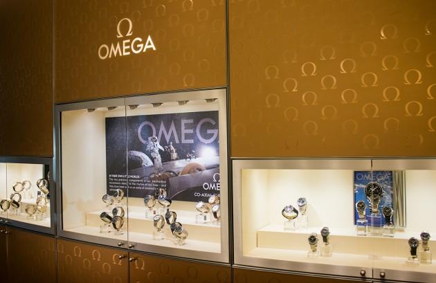 Butik marki Omega w Warszawie
