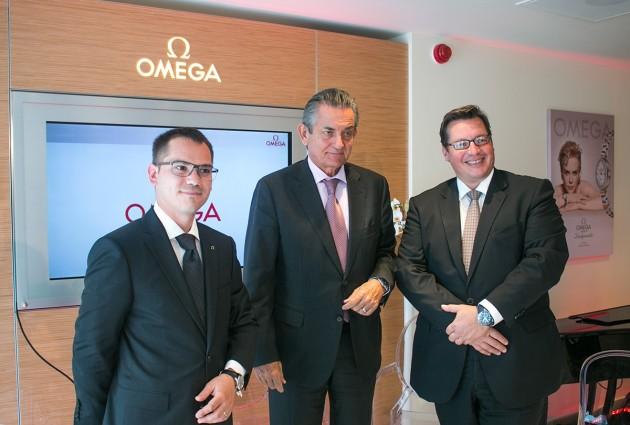 od lewej: Maxime Gourgouillat, Stephen Urquhart i Gaël Vallade