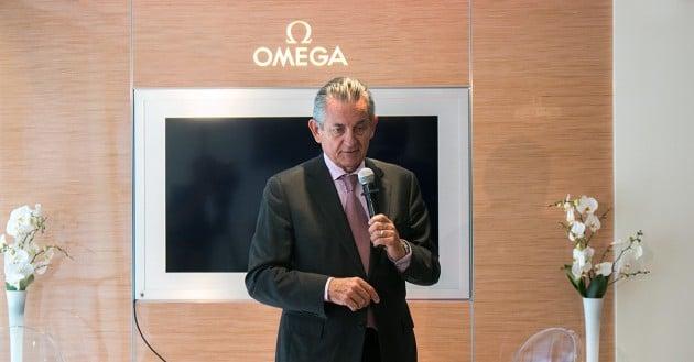 Stephen Urquhart - Prezydent marki Omega
