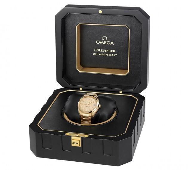 Omega Goldfinger 007 w pudełku
