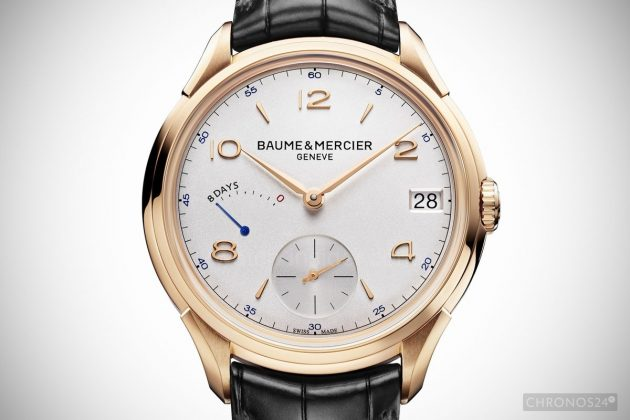 Baume & Mercier Clifton 8-Day Power Reserve