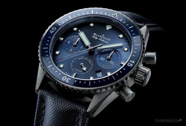 Blancpain Ocean Commitment Bathyscaphe Chronograph Flyback