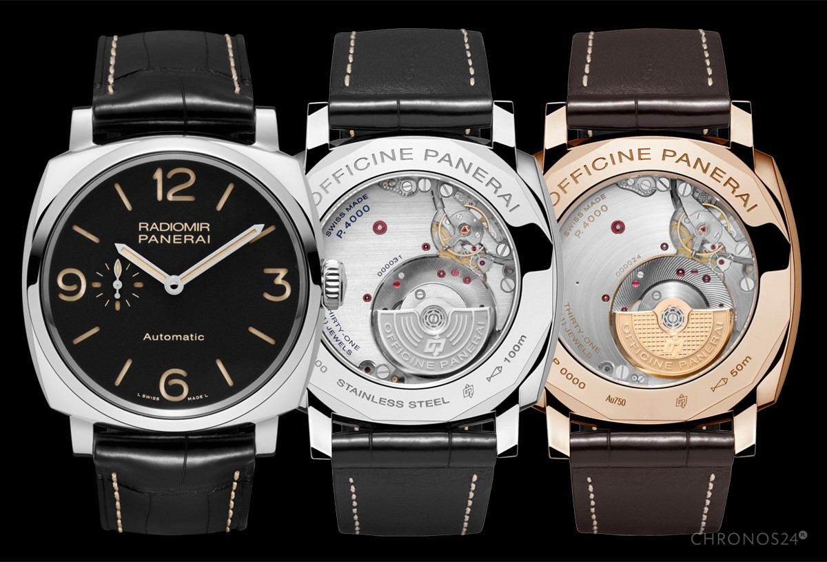 Panerai Radiomir 1940 3-Days Automatic i pierwszy mechanizm in-house z mikrorotorem