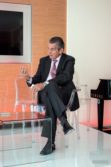 Stephen Urquhart (CEO, Omega)