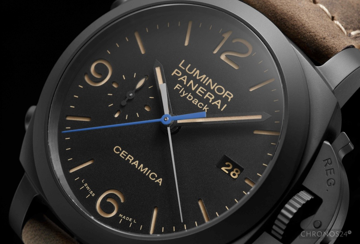 SIHH 2015: Panerai Luminor 1950 3 Days Chrono Flyback Automatic Ceramica