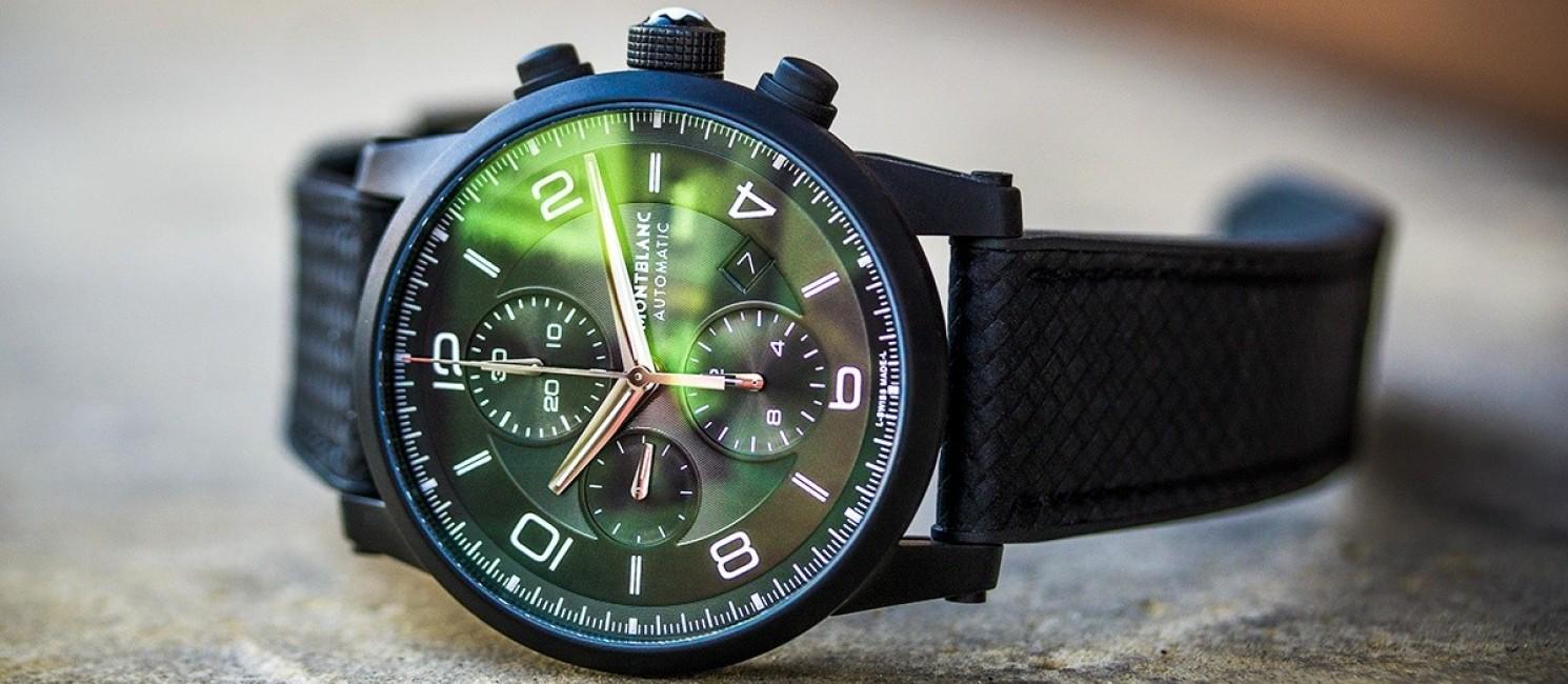 Recenzja Montblanc TimeWalker Extreme Chronograph DLC