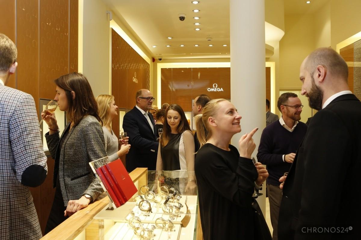 foto: Omega Boutique Warszawa / François Devos