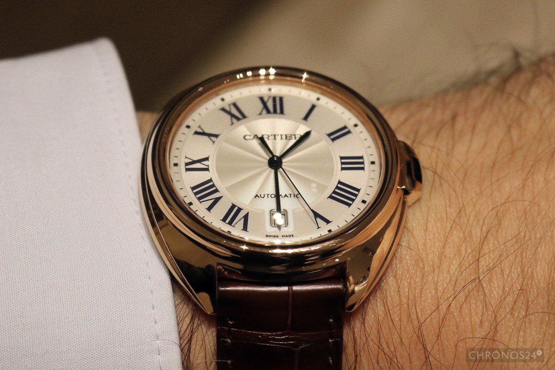SIHH 2015: Cartier Clé de Cartier (Live)