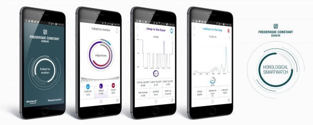 Aplikacja współpracująca z zegarkiem Frederique Constant