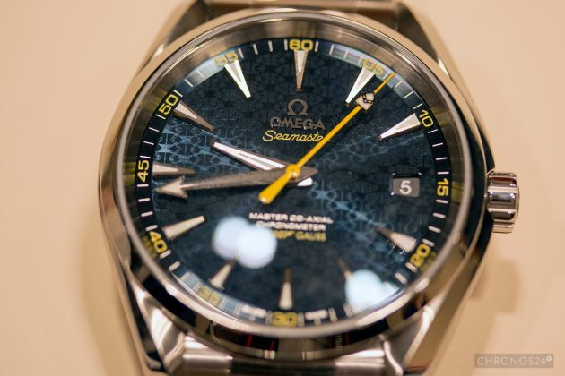 "Omega Seamaster Aqua Terra James Bond Limited Edition ""live"""