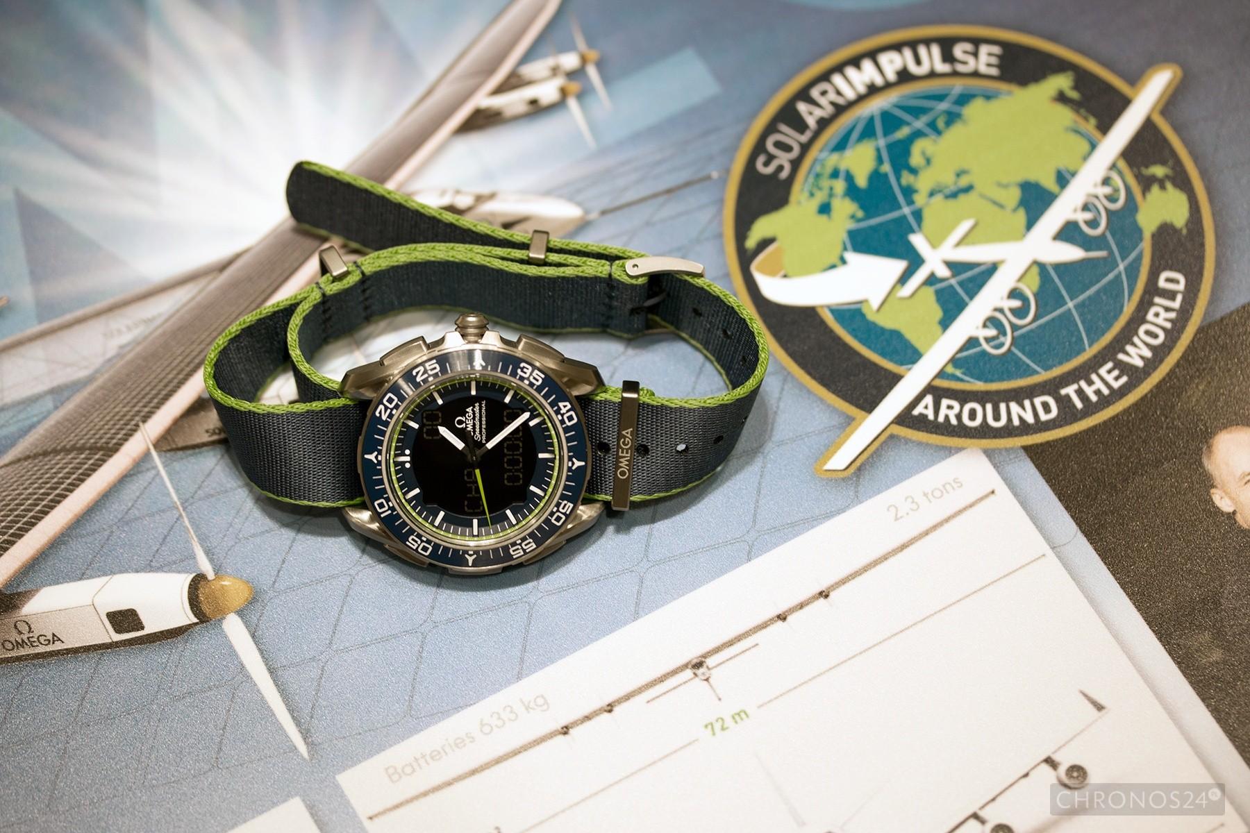 """Omega Speedmaster Skywalker X-33 Solar Impulse LE """"live"""""""