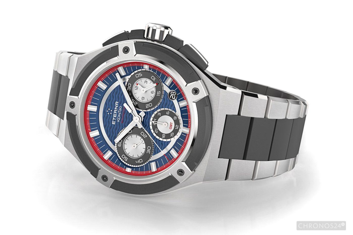 Basel 2015: Eterna Royal KonTiki Chronograph GMT