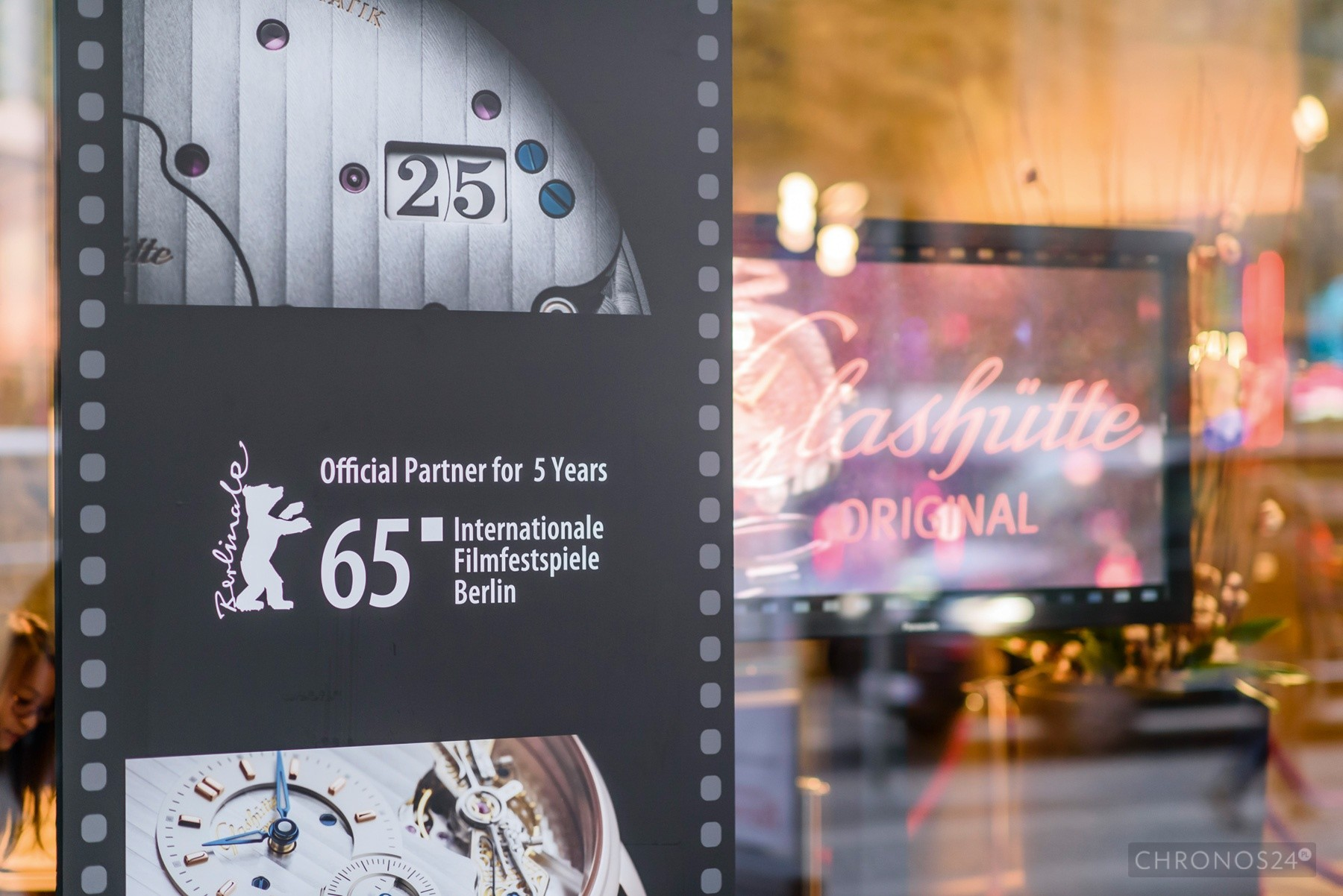 Glashütte Original i Berlinale