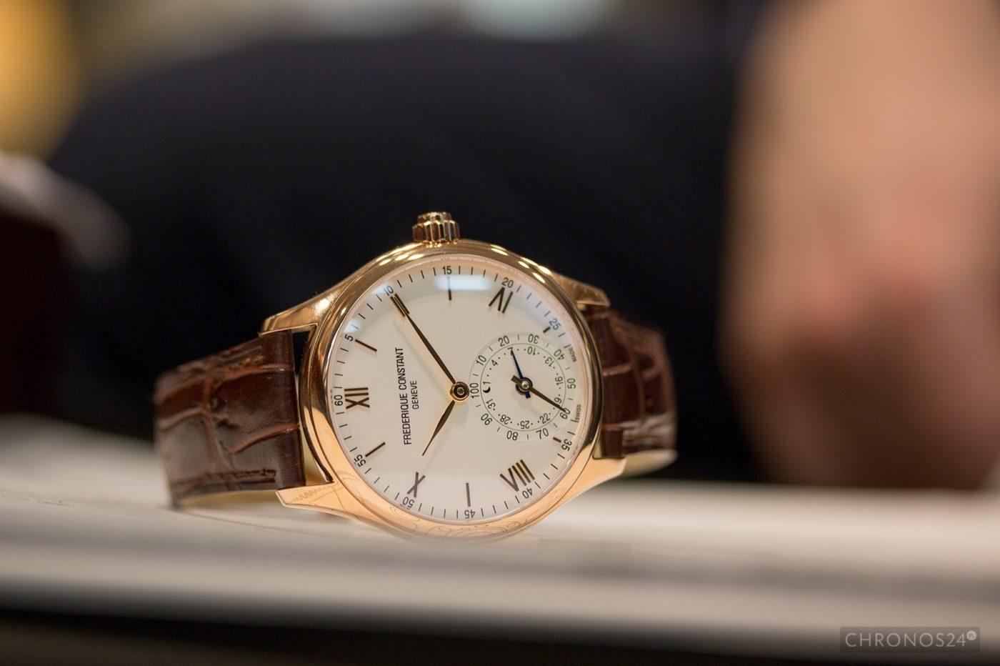 Basel 2015: Smartwatch Frederique Constant [live]