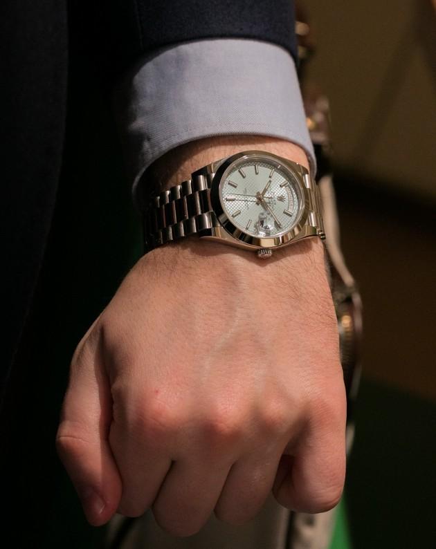 "Rolex Day-Date 40 ""live"""