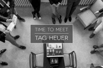 Time to meet: TAG Heuer