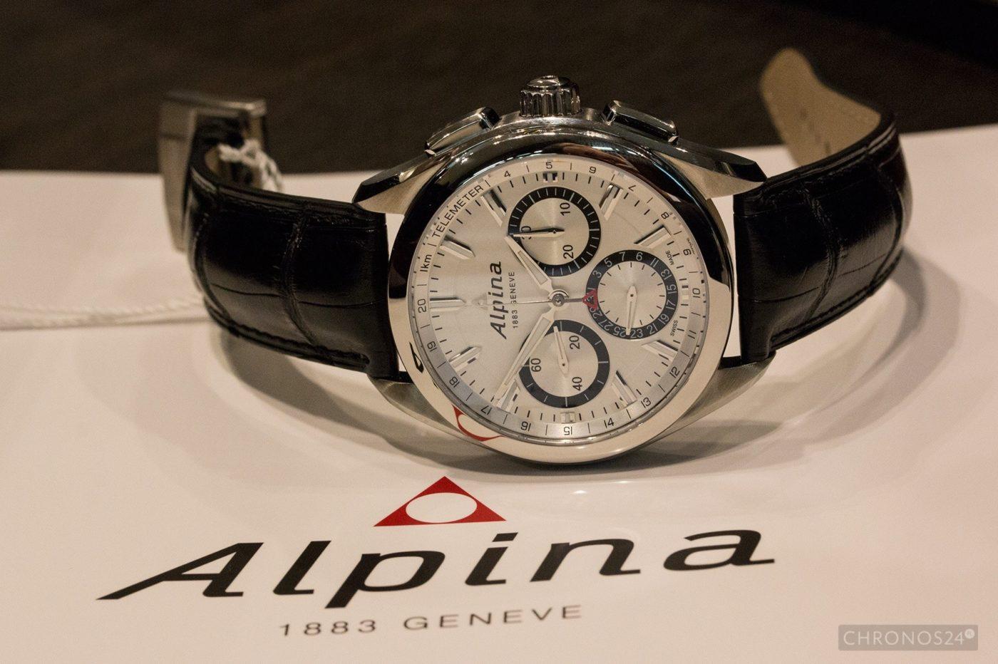 Basel 2015: Alpina Alpiner 4 Flyback Chronograph [live]