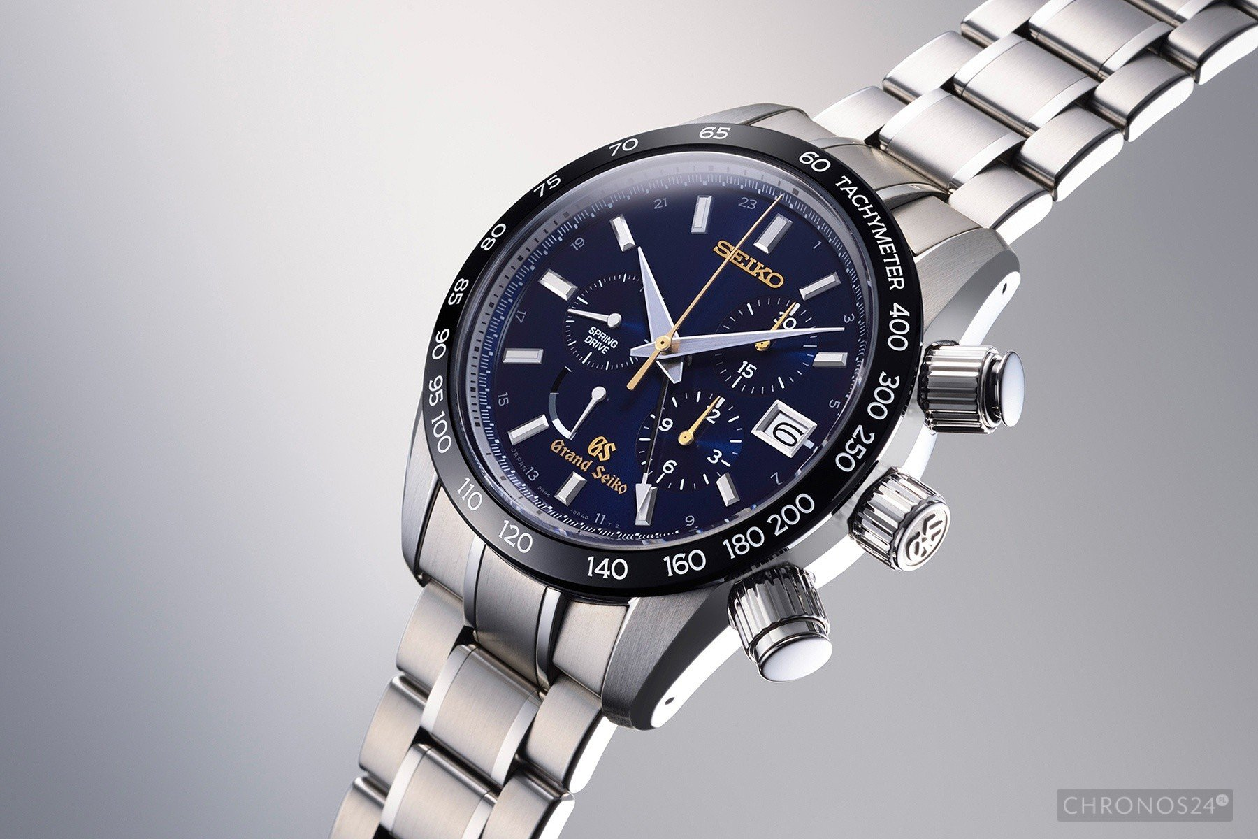 Grand Seiko 55th Anniversary Spring Drive Chronograph Limited Edition