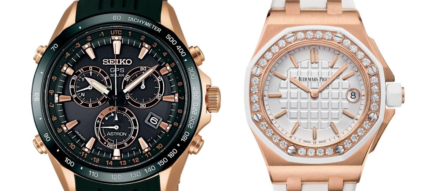 Zwycięskie zegarki - Seiko i Audemars Piguet