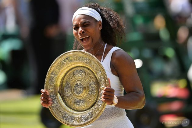 Serena Williams i jej Audemars Piguet / Foto: Glyn Kirk/AFP/Getty Images