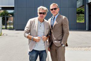 Daniel Craig i Nick Hayek