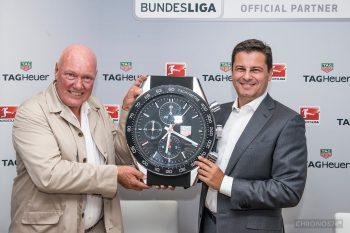 Jean-Claude Biver (CEO TAG Heuer) i Christian Seifert (CEO Bundesliga)