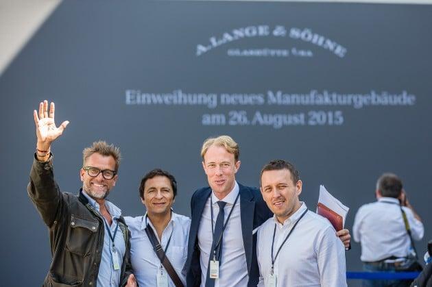 od lewej: Kristian Haagen, Miguel Seabra, Clemens Von Waltzel (Lange) i Łukasz Doskocz