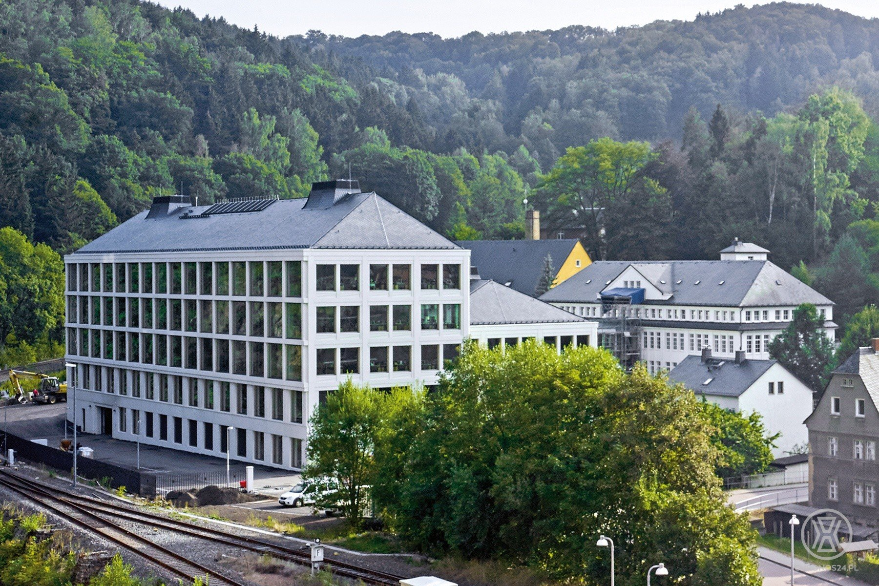 Nowy budynek manufaktury A. Lange & Söhne [live]